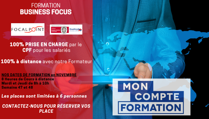 formation CPF anglais business