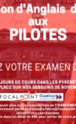 Formation d'anglais destinée aux pilotes